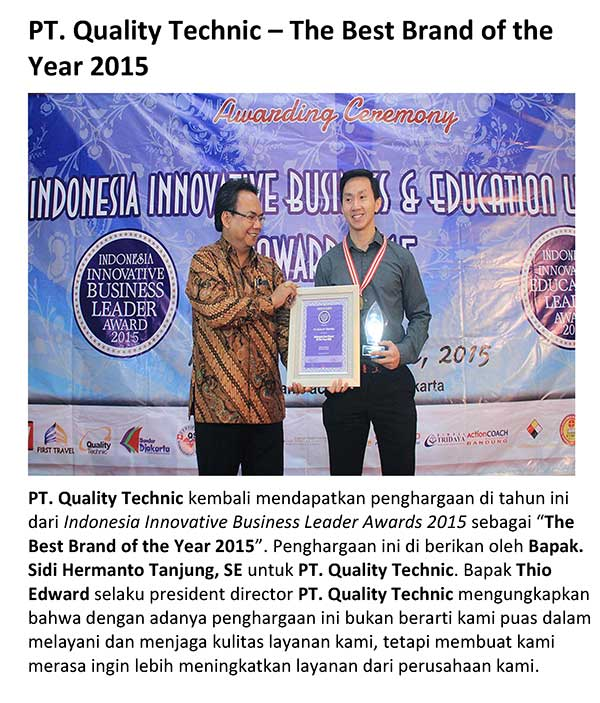 the best brand of the year 2015